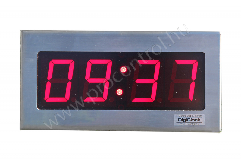 DigiClock 4-40-V-B-E-TT Ipari óra tisztaterekbe 9bc6b970c7